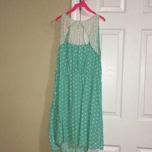 Mossimo Supply Co. Dresses - Beautiful Lime green mini dress